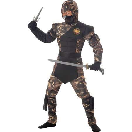 California Costumes NINJA SPECIAL OPS CHILD SM 6-8 - CC00326SM costume - image 1 of 1