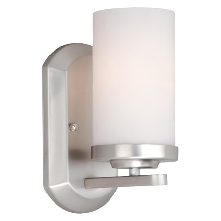 Vaxcel Oxford OX-VLU001BN Wall Sconce Bath Sconce Oxford Collection