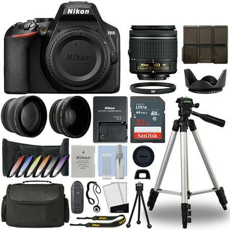 Nikon D3500 Digital SLR Camera + 18-55mm VR 3 Lens Kit + 32GB Best Value