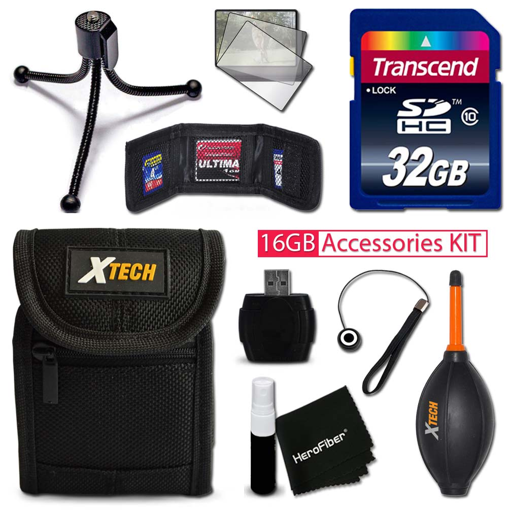 IDEAL 32GB Accessories KIT for Samsung WB350F, WB50F, WB3...