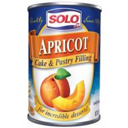 Solo Apricot Filling, 12 oz -