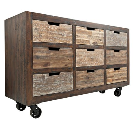 Jofran Painted Canyon 9 Drawer Decorative Accent Chest Walmart Com