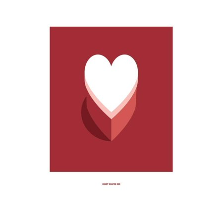 Nirvana Heart Shaped Box (Heart Shaped Box: Nirvana Print Wall Art By Christophe Gowans)