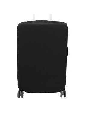 Product Image Suitcase Luggage Elastic Polyester Dustproof Protector Cover Black 18-22 Inch
