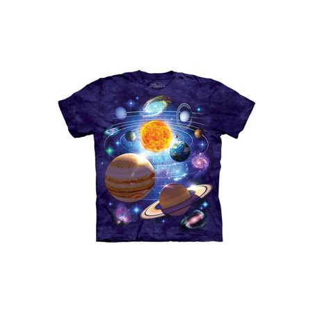You Are Here Solar System Planets Big Boys T-Shirt Tee (You Are Here T Shirt)