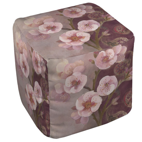 Manual Woodworkers & Weavers Gypsy Blossom 2 Pouf