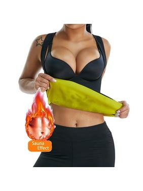 SLIMBELLE Women Neoprene Hot Sweat Sauna Suit Waist Trainer Vest Slimming Vest Body Shaper Shirt Tank Top