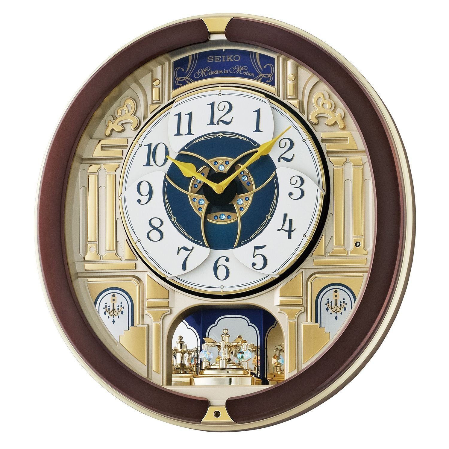 Seiko melodies in motion clock walmart amipublicfo Images