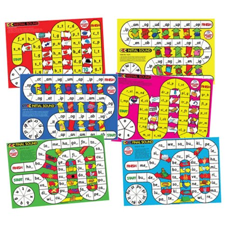 CVC Spelling Board Games](Cvs Board Games)