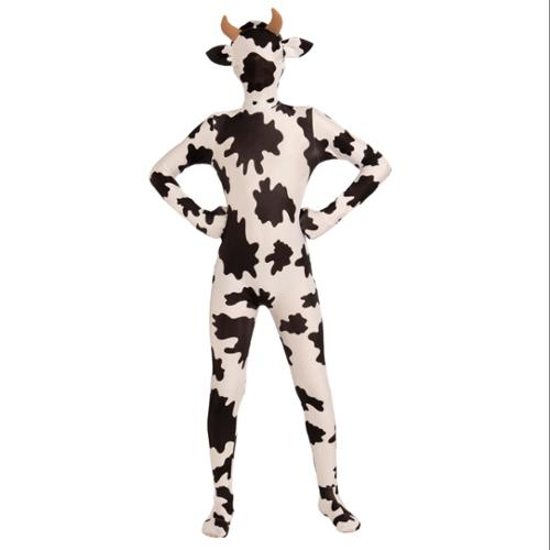 I'm Invisible Skin Suit Cow Pattern Teen Standard