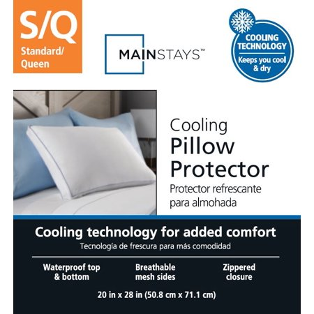Mainstays Cooling Pillow Protector, 1 Each