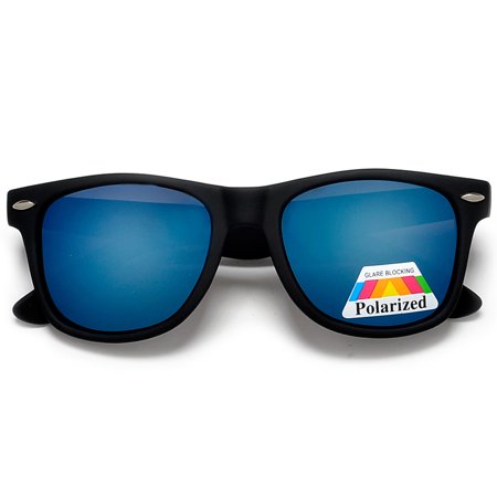 Polarized Colorful Mirrored Lens Classic 80's Style