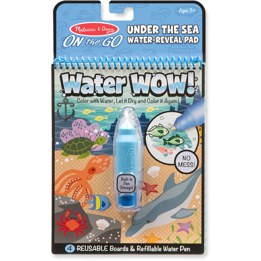 Melissa & Doug Water Wow!, Under The Sea Water Reveal Pad