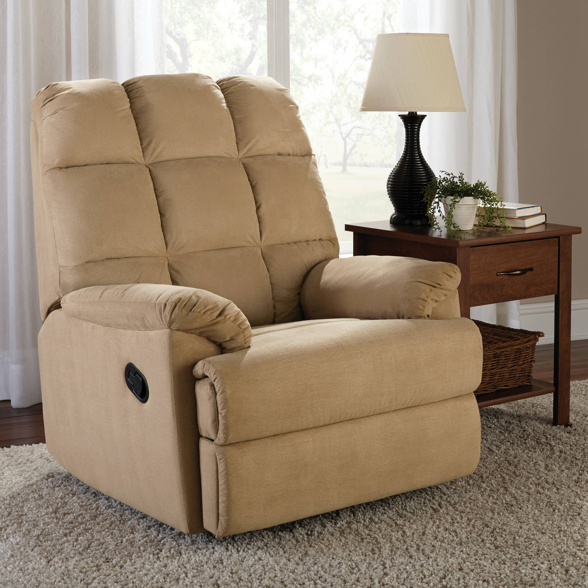 recliner leather patriot kane room products rocker recliners furniture living swivel s