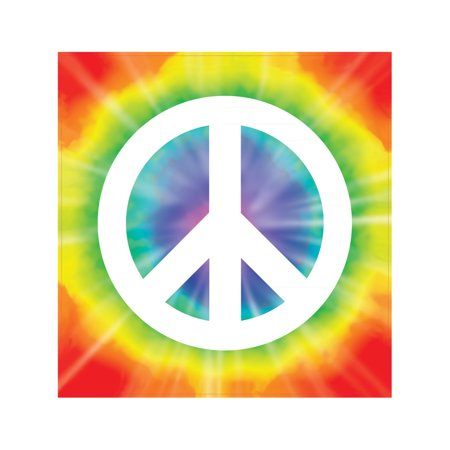 New 60's 70's Peace Sign Peel 'N Place Party Wall Clings - 60's Decorations Ideas