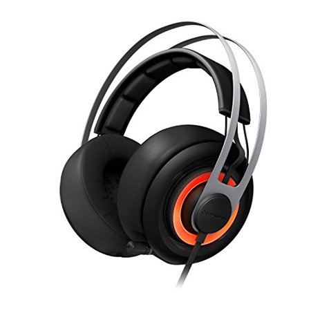 Steel Series Siberia Sound Device (SteelSeries Siberia Elite Headset with Dolby 7.1 Surround Sound (Black) (Renewed) )