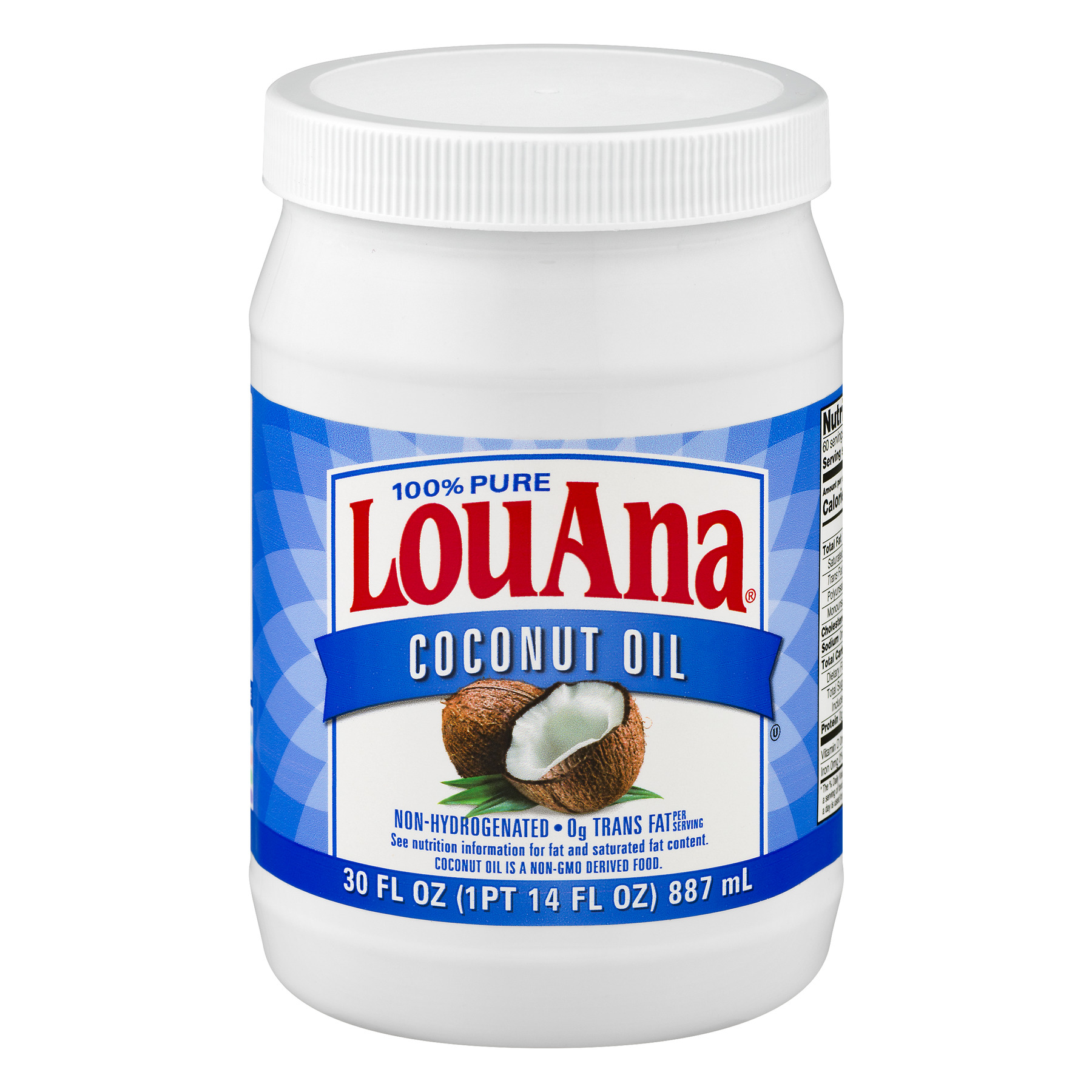 Ventura Foods LouAna  Coconut Oil, 30 oz