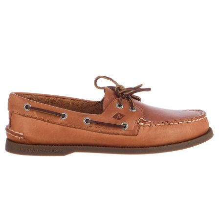 Sperry Top-Sider Authentic Original 2-Eye Boat Shoe  - (Sperry Top Sider Plaid Washed Canvas Boat Shoe)