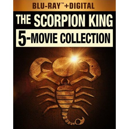 The Scorpion King: 5-Movie Collection (Blu-ray + Digital Copy)