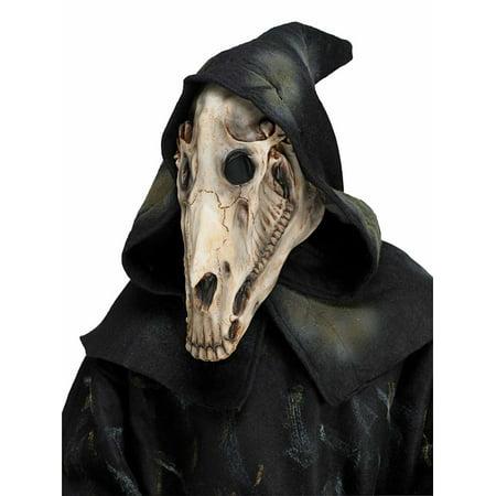 Horse Skull Mask With Shroud - Horse Masks
