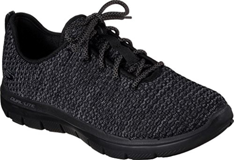 52120 Black Skechers Shoes Men Memory Foam Sporty knit mesh Casual Lace  Sneaker  Walmart