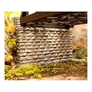 Chooch Enterprises HO Scale Double Cut Stone Bridge Abutment