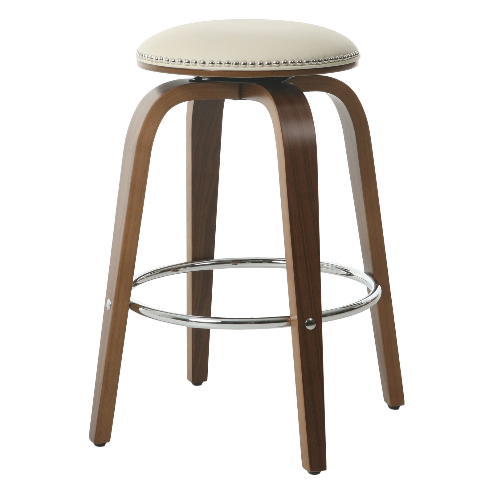 Impacterra Yeri 27 in. Backless Counter Stool