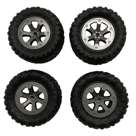 4pcs Upgrade Track Wheels Spare Parts For 1/16 WPL B14 C24 Military Truck RC (Rc Spare)