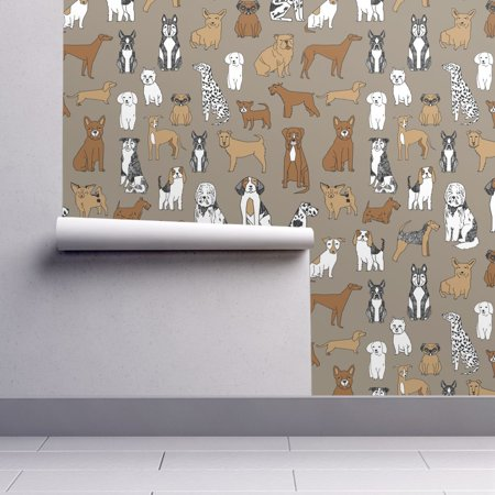 Jack Russell Bichon - Removable Water-Activated Wallpaper Bichon Bichon Dog Puppy Husky Jack Russell
