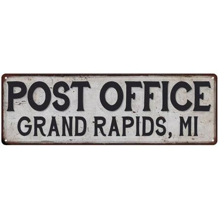 Grand Rapids, Mi Post Office Personalized Metal Sign Vintage 8x24 108240011112](The Bob Halloween Party Grand Rapids Mi)