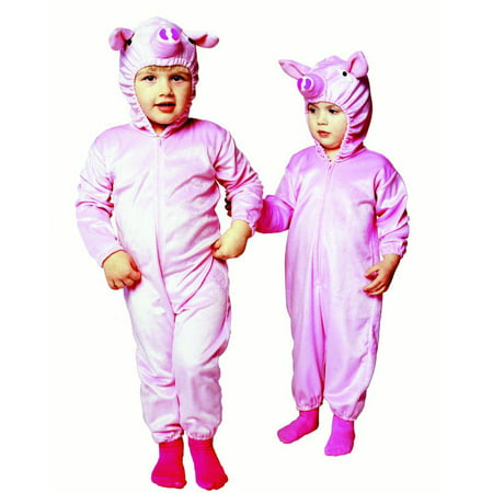 Pink Piggy Pajamas Infant & Toddler Costume](Little Piggy Costume)