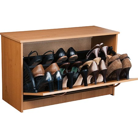 Shoe Cabinet, Single, Oak