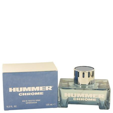 Hummer Chrome Cologne by Hummer, 4.2 oz Eau De Toilette Spray - image 1 de 3