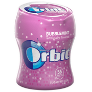 Orbit Bubblemint Sugarfree Gum, 55 piece bottle