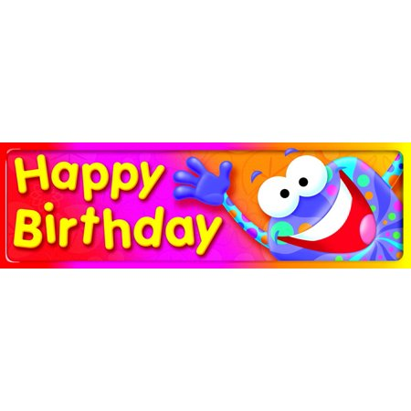 Trend Enterprises Frog-Tastic Happy Birthday, Bookmarks