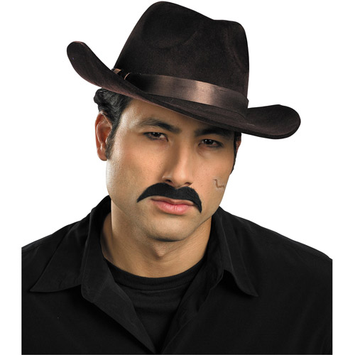 Gangster Style Moustache Adult Halloween Accessory