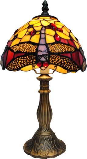 Tiffany Dragonfly Table Lamp - DCES38-8