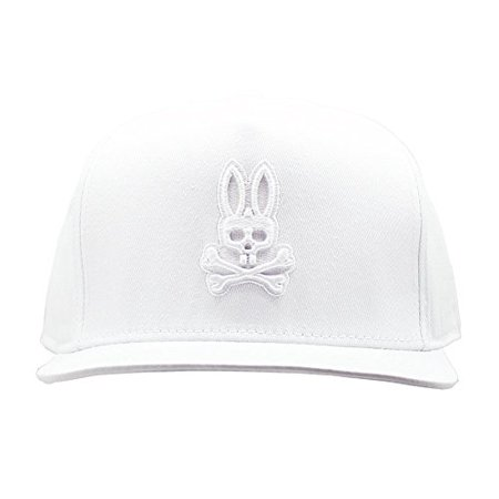 Psycho Bunny Unisex Adult Solid Wool Blend Snapback Hat in White -  Walmart.com e4f8a804916