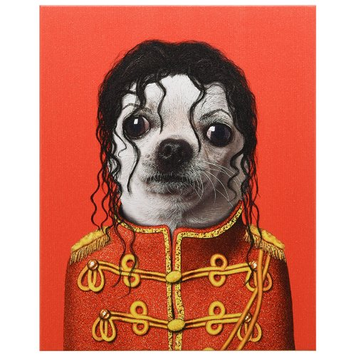 Empire Art Direct Pets Rock  ''Pop'' Graphic Art on Wrapped Canvas