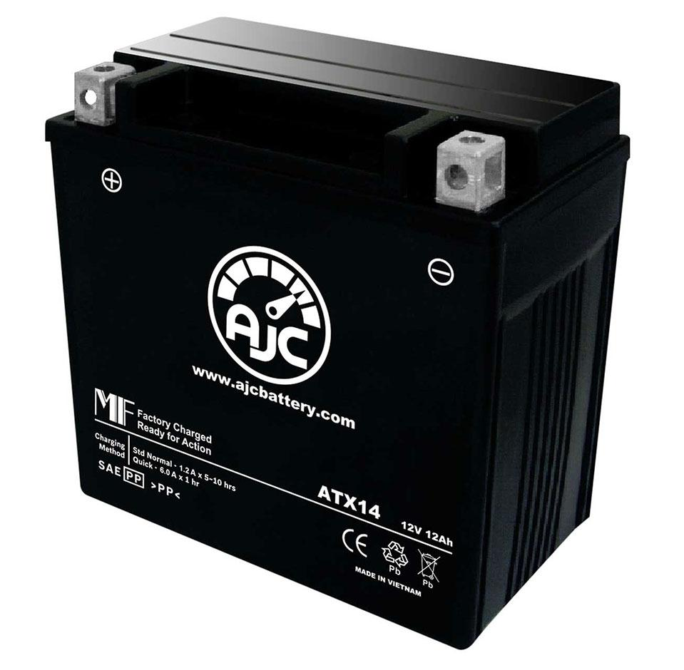 Scorpion YTZ14S Powersports Replacement Battery This is an AJC Brand Replacement