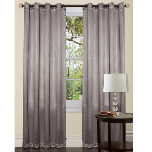 Special Edition by Lush Decor Electra Synthetic Grommet Curtain Single Panel
