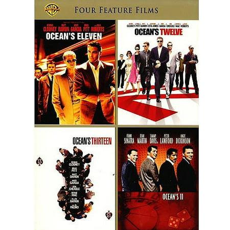4 Film Favorites: Oceans Collection - Ocean's Eleven (2001) / Ocean's Twelve / Ocean's Thirteen / Ocean's 11 (1960)](Film 13 Ghost)