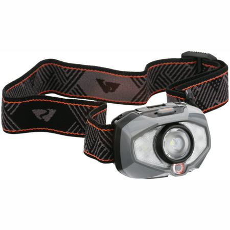 Ozark Trail 250 Lumen LED Auto-Bright Headlamp with Battery