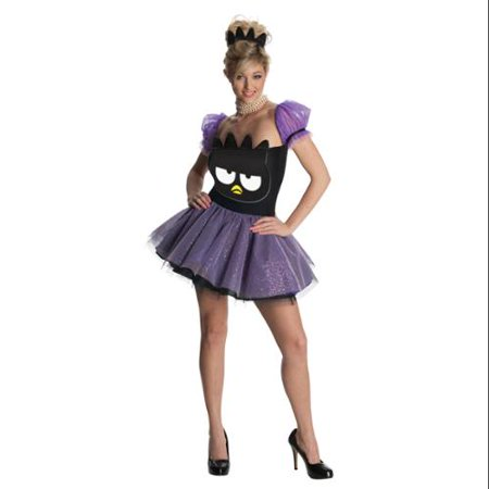 Sexy Purple Badtz Maru Penguin Dress Hello Kitty Halloween Costume Outfit XS-XL