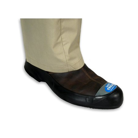Safety Treds 13433 Rubber Overshoes for Shoes w/ Safety Toe, X-Large (One Pair)