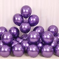 50Pcs Latex Metallic Balloons Shiny Thicken Balloon for Birthday Party Wedding