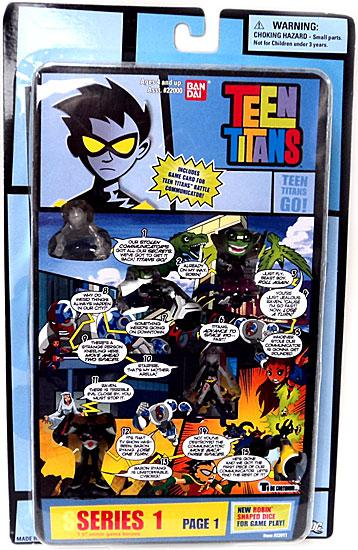 Teen Titans Series 1 Comic Book Heroes Page 1 Mini Figure by