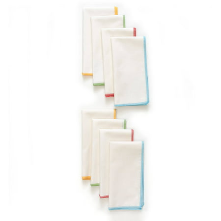 The Pioneer Woman Bright Whipstitch Napkins, Set of 8 (Table Napkins)