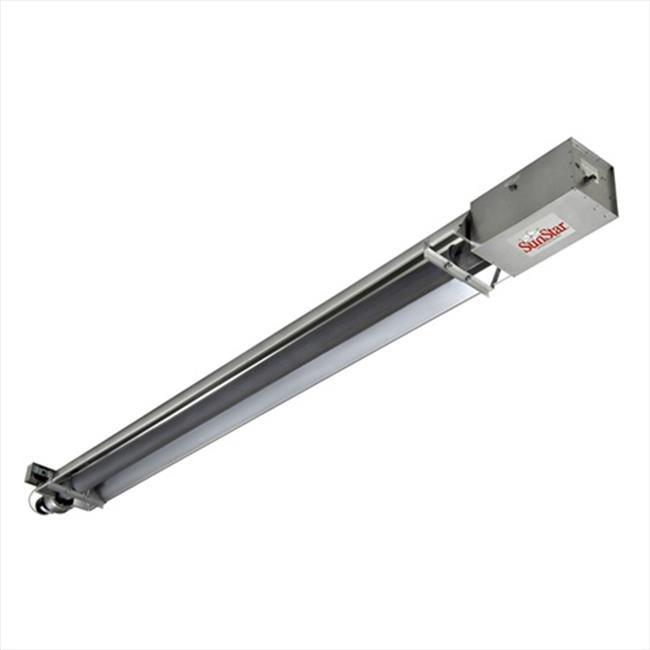 TekSupply 103201N SunStar ToughGuy Straight Tube NG Heater 150K BTU - 50 ft