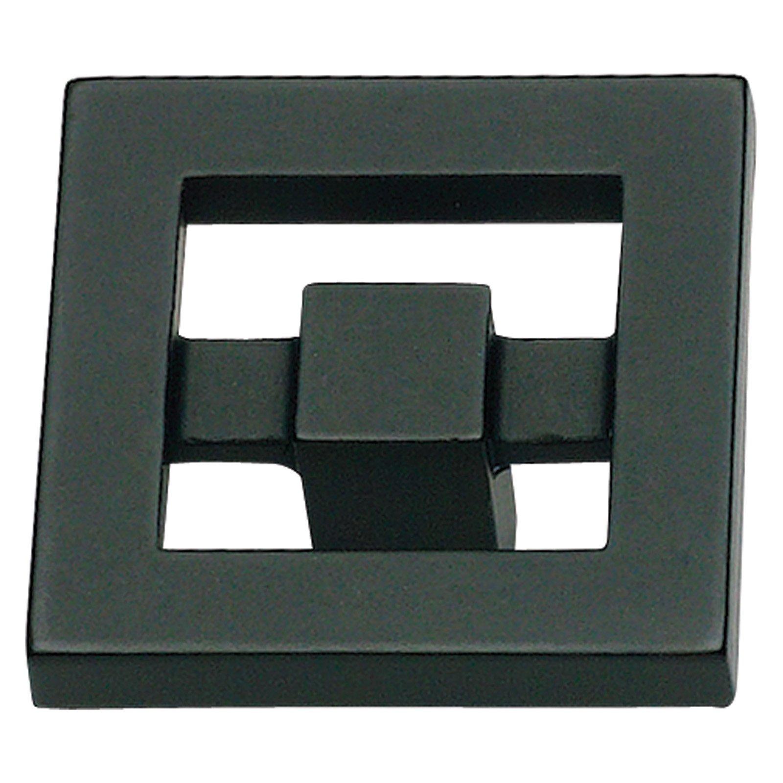 Nobu Collection 1-3/8 in. Black Cabinet Knob